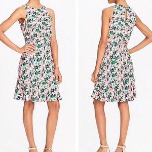 J. Crew Mercantile   Neon Floral Sleeveless Dress